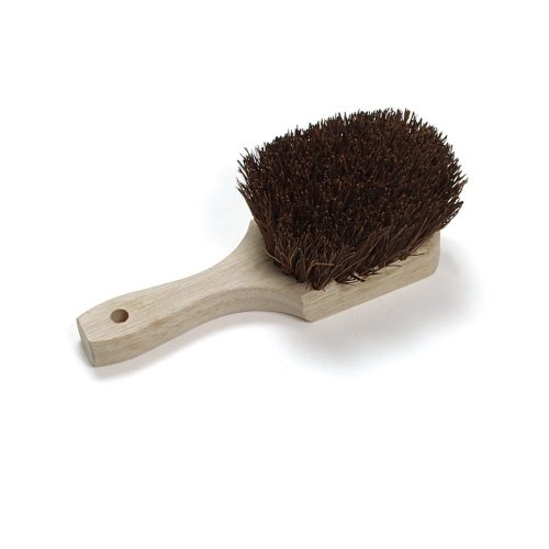 Short handle utility scrub brush
