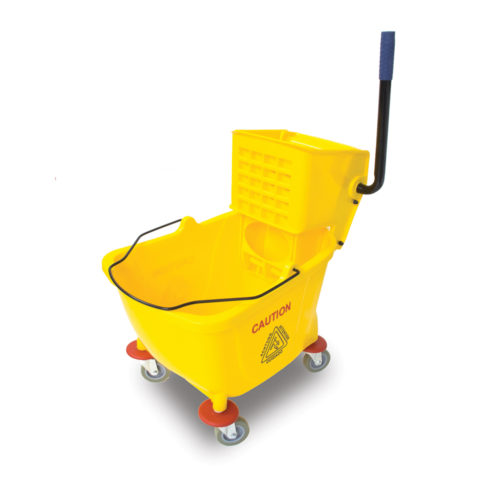 Yellow Mop Bucket