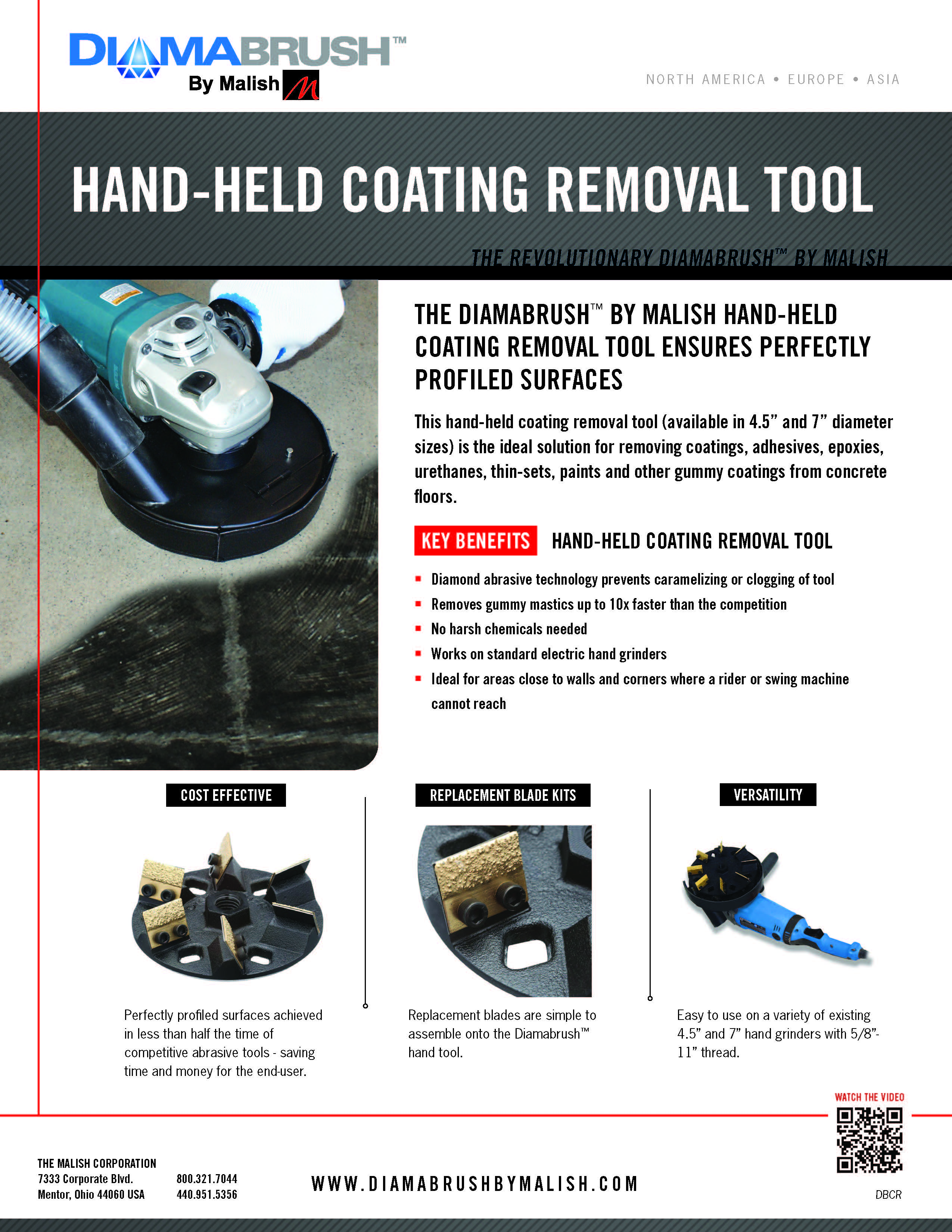 Handheld Coating Removal Tool