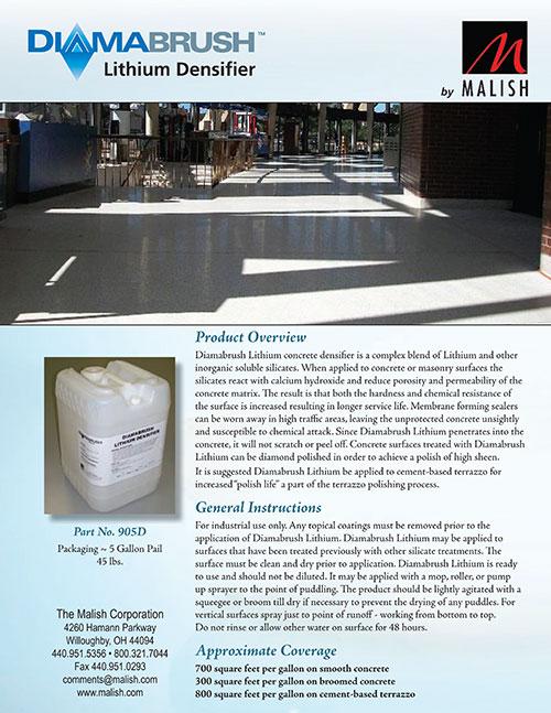 Lithium Densifier Sell Sheet