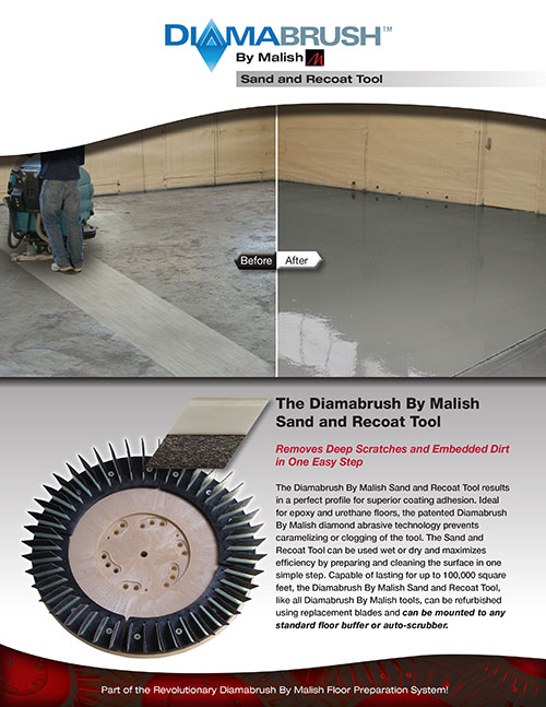 Sand and Recoat Tool