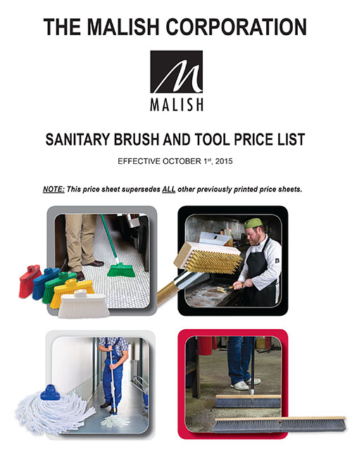 Sanitary Brush & Tool Price List