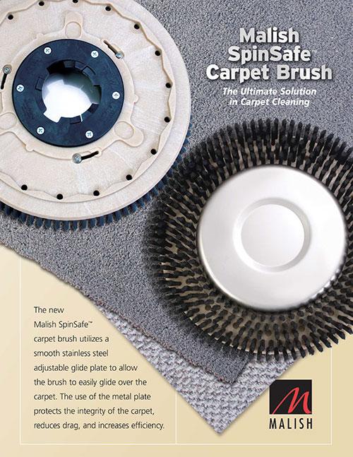 SpinSafe™ Carpet Brush