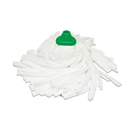 Green Recycled Rayon-Polyester Mop